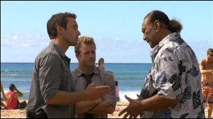 Alex O'Loughlin, Scott Caan and Al Harrington, Hawaii Five-0
