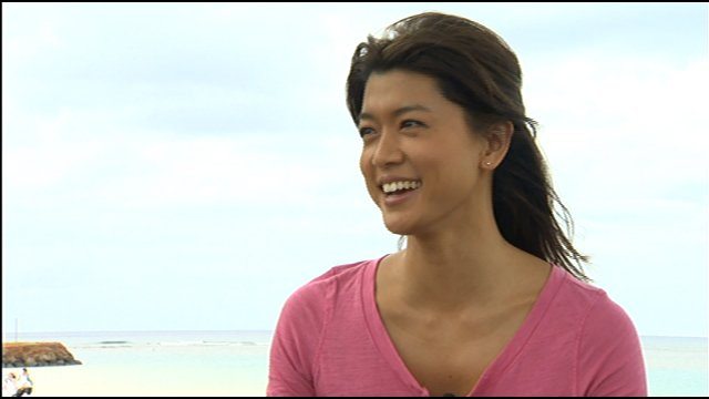 hawaii five o grace park. sunscreen in Hawaii Five-0
