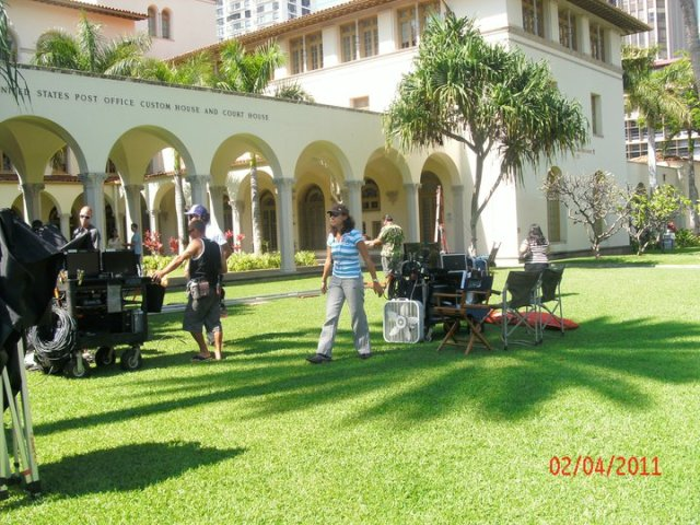 Post Office, Downtown Honolulu, Hawaii Five-0
