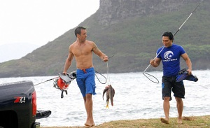 Alex O'Loughlin, Daniel Dae Kim, Hawaii Five-0, Palekaiko