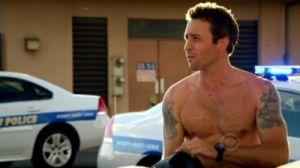 Alex O'Loughlin shirtless again, Hawaii Five-0