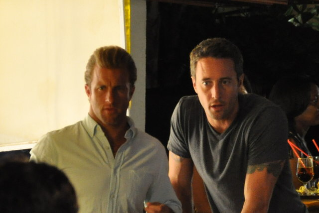 alex o loughlin 2011. Alex O#39;Loughlin, Scott Caan at
