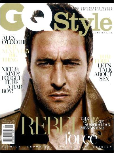 Alex O'Loughlin, GQ Style Auestralia