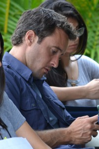 Alex O'Loughlin, on set in Kailua, Photo: Undercover Special Agent Jamee