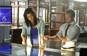 Grace Park, Scott Caan, Hawaii Five-0