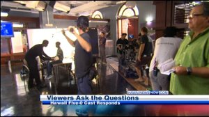 Hawaii Five-0 BTS