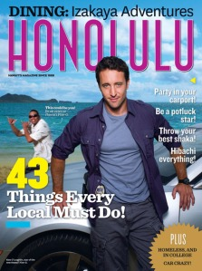 Honolulu Magazine, hawaii five-0, Alex O'Loughlin
