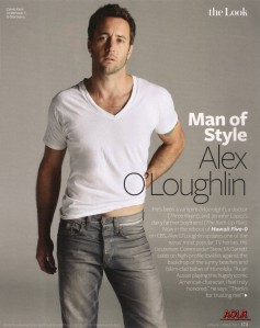 Alex O'Loughlin, InStyle magazine