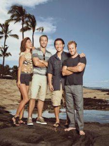 Grace Park, Alex O'Loughlin, Daniel Dae Kim and Scott Caan, Hawaii Five-0 cast