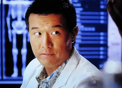 Brian yang as Charlie Fong, Hawaii Five-0, photo: CBS, vidcap from Charlie Fong FB page