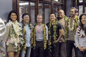 Hawaii Five-0 first day of shooting and blessing, photo: Craig T. Kojima.