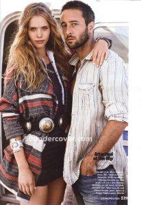 Alex O'Loughlin, Cosmopolitan Magazine, October 2011 (Photo: Cosmopolitan magazine)