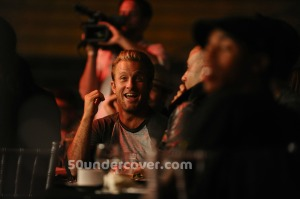 Scott Caan—Scott Caan of Entourage and Hawaii Five-0 checking out the debut of the MuayThai Premier League on September 2, 2011. (Photo Credit: Getty Images)